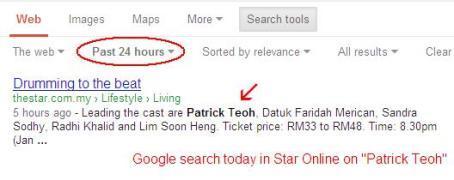 GoogleStarPatrick