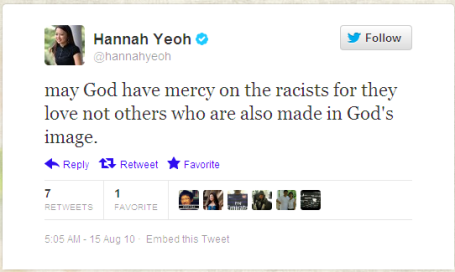 hannahyeoh may God have mercy on the racists