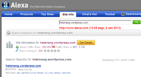 helenang.wordpress.com - Information from Alexa Internet 2013-01-02 10-05-17