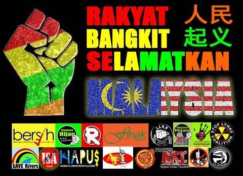rakyat bangkit selamatkan malaysia