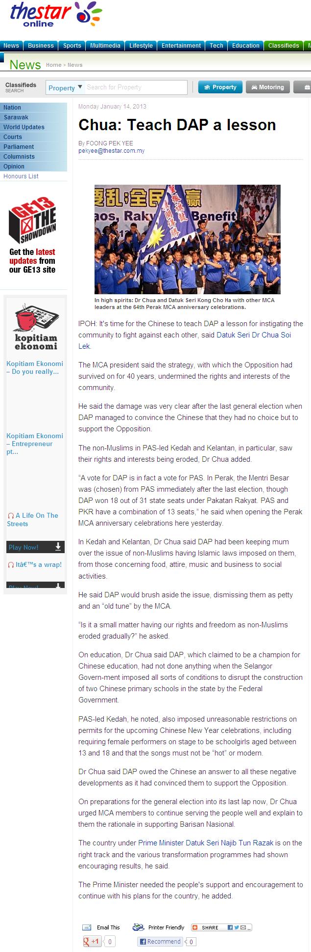 Chua Teach DAP a lesson-StoryThe Star Online 2013-04-13 09-37-35