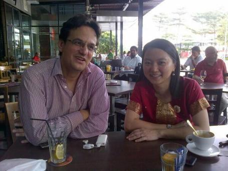 Karim Raslan and Hannah Yeoh