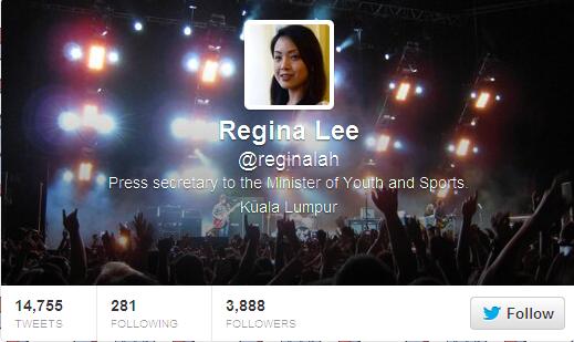 Regina Lee (reginalah) on Twitter
