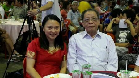 Mama dan Grandpapa Dapster