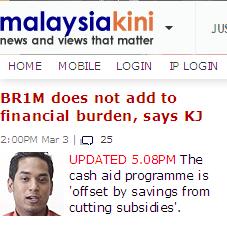 Malaysiakini KJ brim