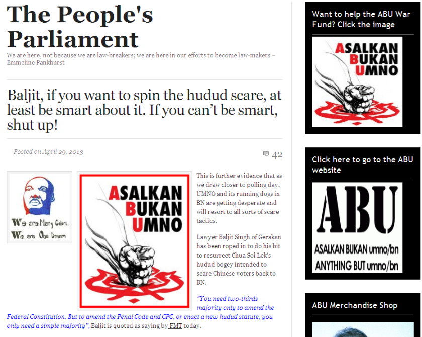 http://harismibrahim.wordpress.com/2013/04/29/baljit-if-you-want-to-spin-the-hudud-scare-at-least-be-smart-about-it-if-you-cant-be-smart-shut-up/