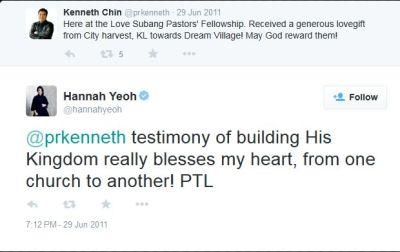 Hannah PTL praise the lord