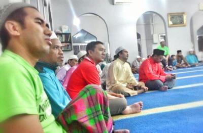 Ng Sze Han masjid Nurul Huda Kg Kenangan