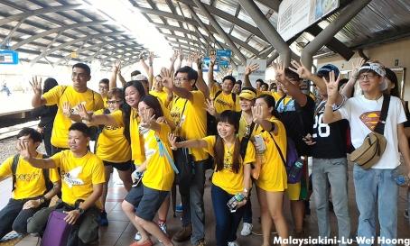 Bersih 4.0 morning