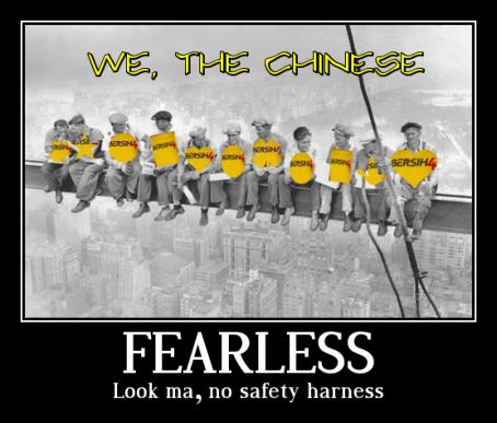 Chinese Bersih 4 Fearless