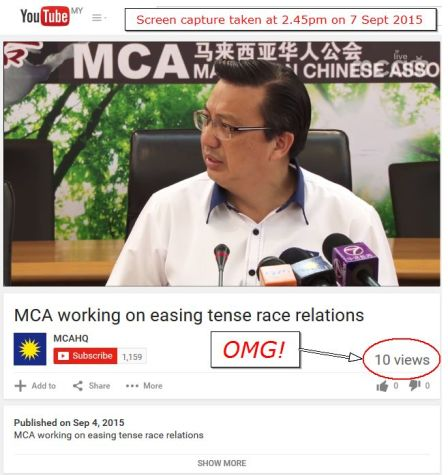 MCA working on easing tense race relations