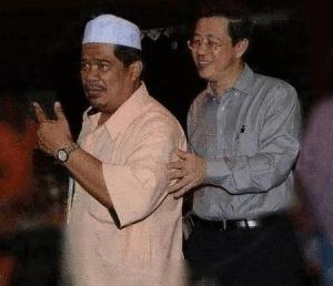 Mat Sabu Guan Eng touch sentuh